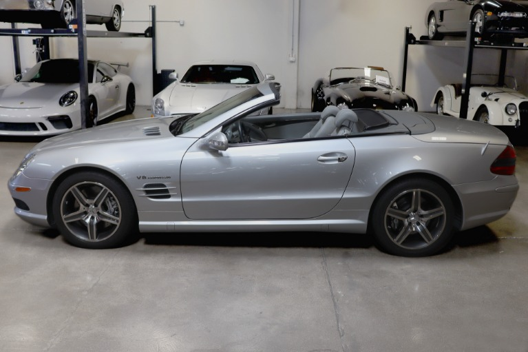Used 2003 Mercedes-Benz SL55 AMG for sale Sold at San Francisco Sports Cars in San Carlos CA 94070 4