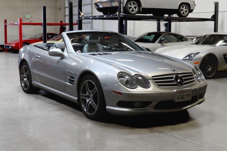 Used 2003 Mercedes-Benz SL55 AMG for sale $27,995 at San Francisco Sports Cars in San Carlos CA