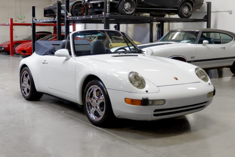 Used 1997 Porsche 911 Carrera Cabriolet for sale $57,995 at San Francisco Sports Cars in San Carlos CA