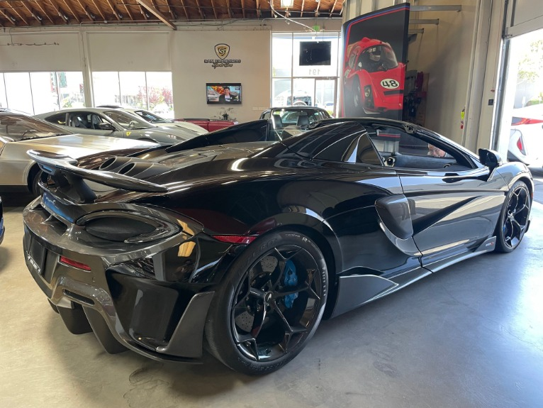 Used 2020 McLaren 600LT Spider for sale Sold at San Francisco Sports Cars in San Carlos CA 94070 4