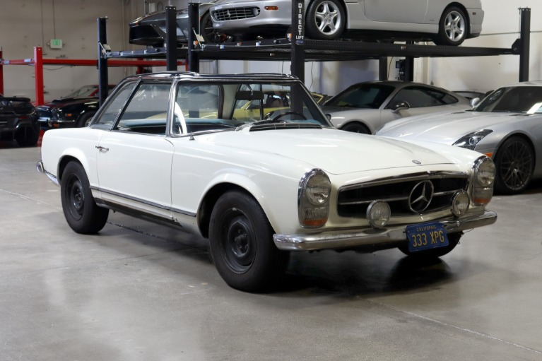 Used 1967 Mercedes-Benz 250SL for sale Sold at San Francisco Sports Cars in San Carlos CA 94070 1