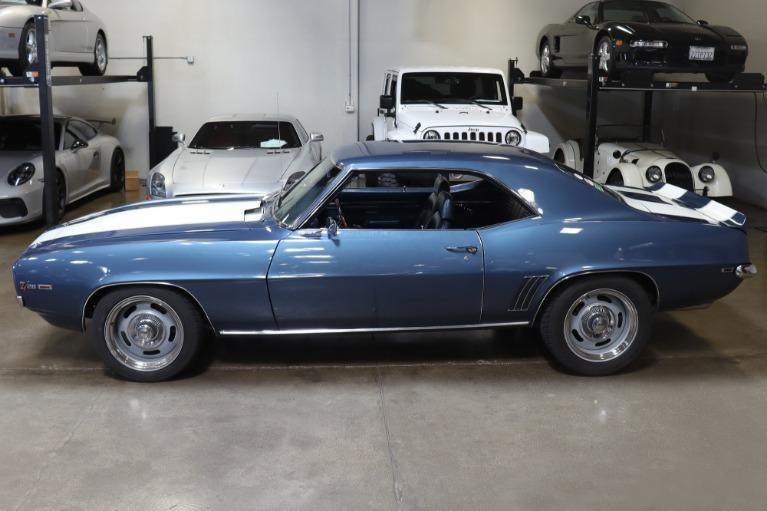 Used 1969 Chevrolet Camaro Z/28 for sale Sold at San Francisco Sports Cars in San Carlos CA 94070 4