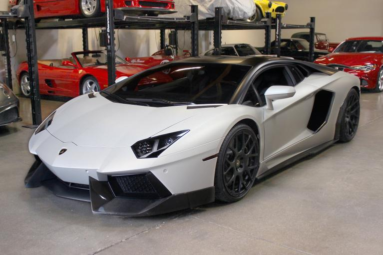 Used 2012 Lamborghini Aventador LP 700-4 for sale Sold at San Francisco Sports Cars in San Carlos CA 94070 3