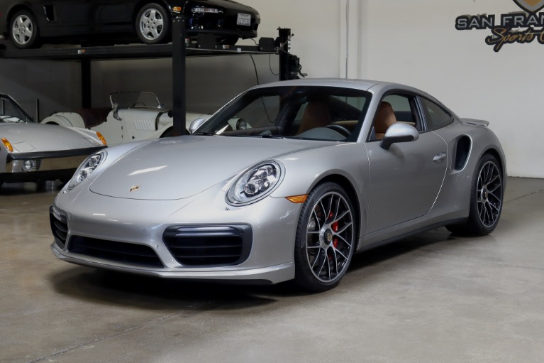 Used 2017 Porsche 911 Turbo for sale $157,995 at San Francisco Sports Cars in San Carlos CA 94070 3