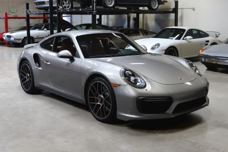 Used 2017 Porsche 911 Turbo for sale $146,995 at San Francisco Sports Cars in San Carlos CA