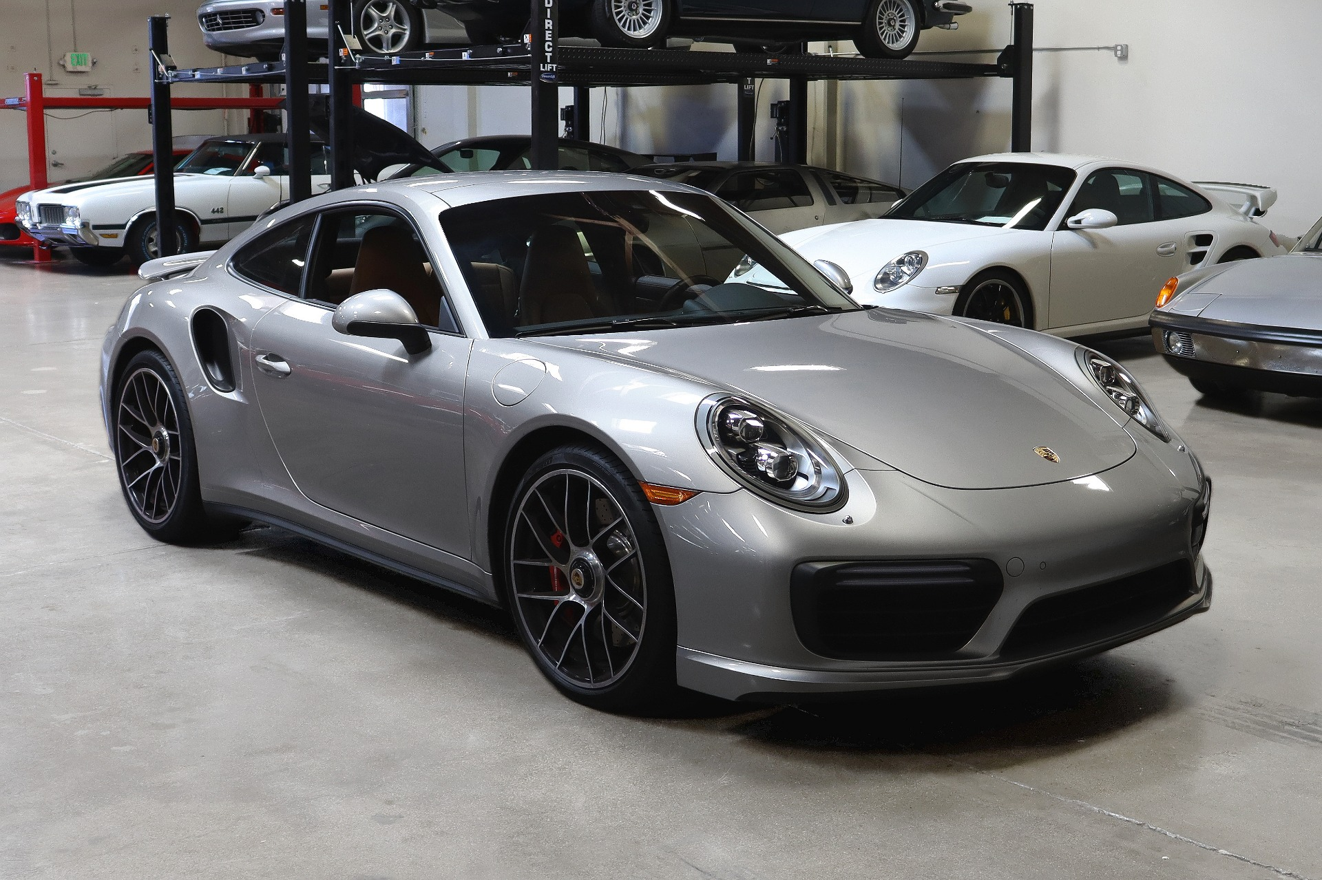Used 2017 Porsche 911 Turbo for sale $157,995 at San Francisco Sports Cars in San Carlos CA 94070 1