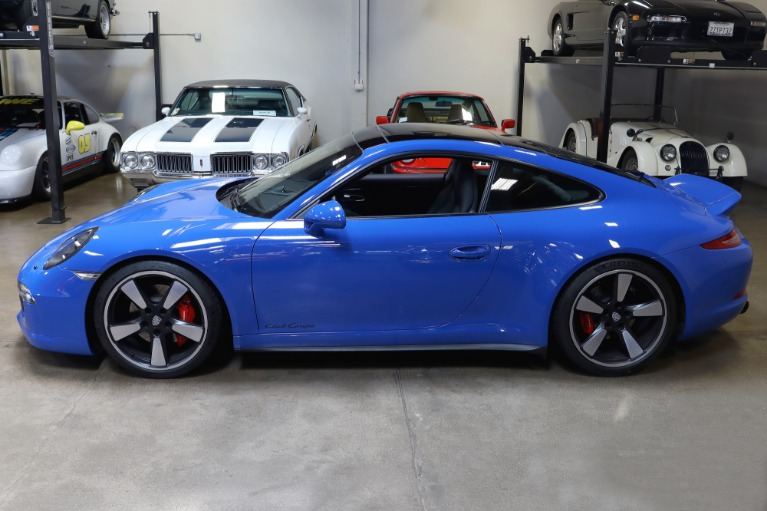 Used 2016 Porsche 911 Carrera GTS Club Coupe for sale $159,995 at San Francisco Sports Cars in San Carlos CA 94070 4