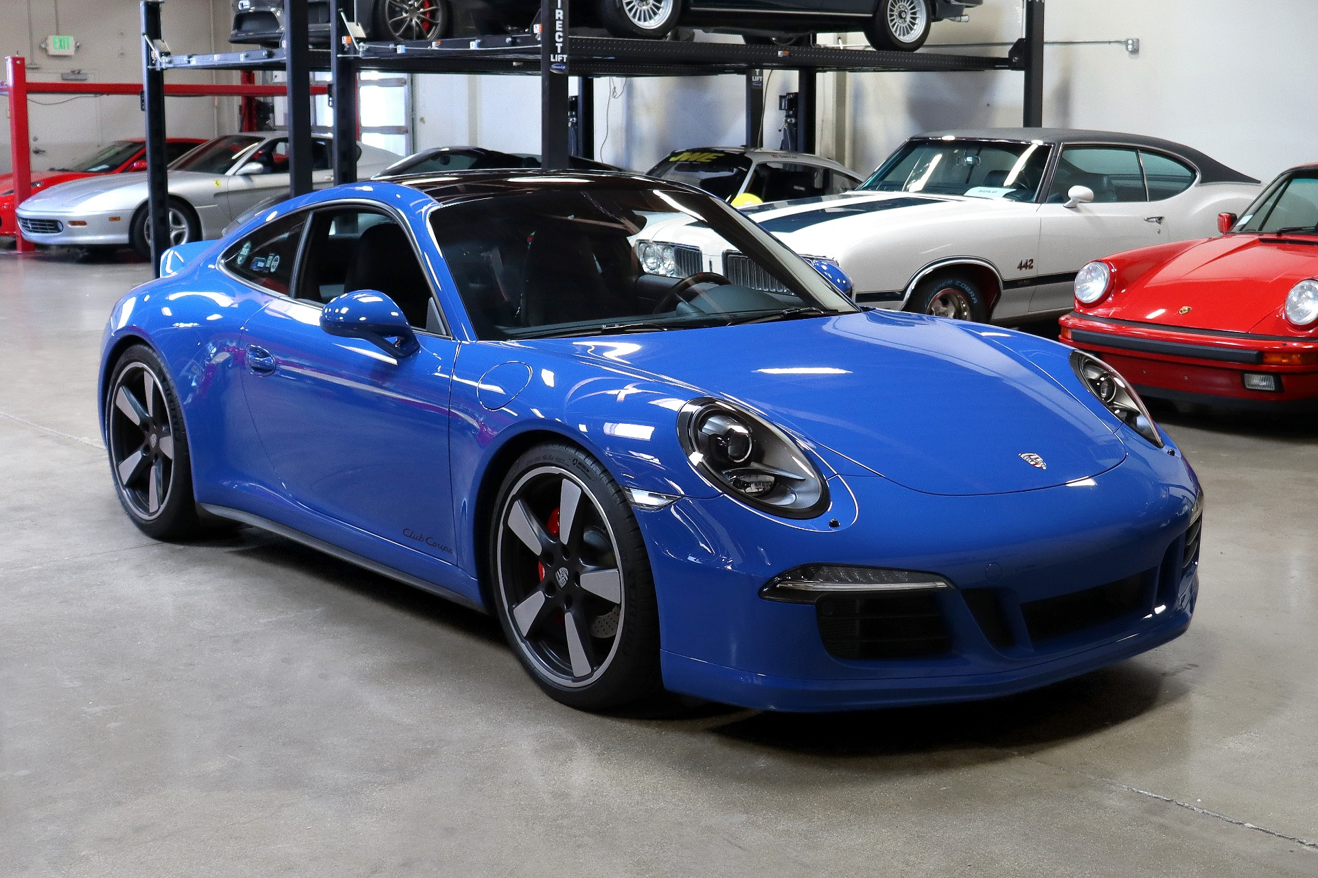 Used 2016 Porsche 911 Carrera GTS Club Coupe for sale $159,995 at San Francisco Sports Cars in San Carlos CA 94070 1