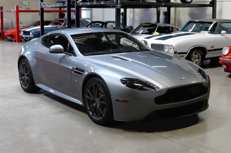 Used 2016 Aston Martin V8 Vantage GT for sale Sold at San Francisco Sports Cars in San Carlos CA 94070 1