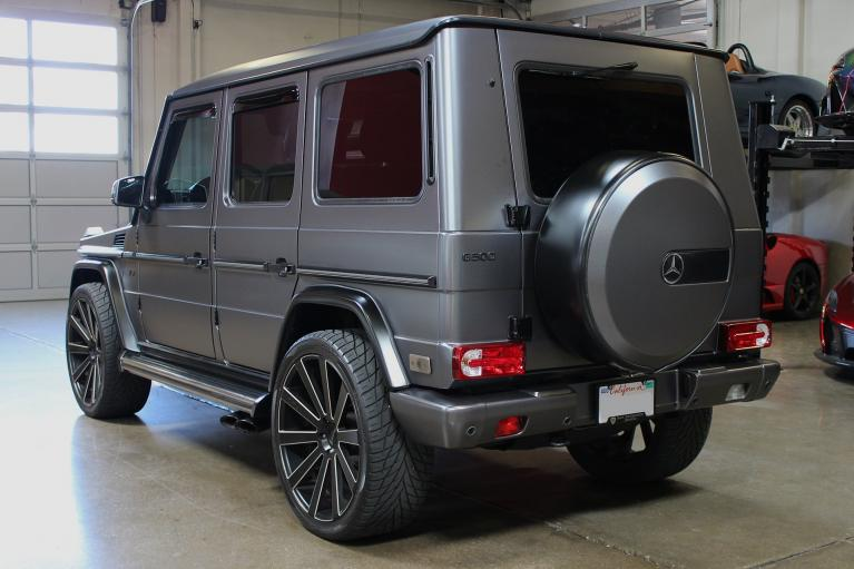 Used 2007 Mercedes-Benz G500 for sale Sold at San Francisco Sports Cars in San Carlos CA 94070 3
