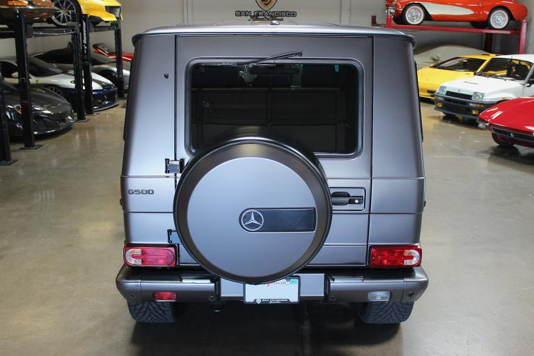 Used 2007 Mercedes-Benz G500 for sale Sold at San Francisco Sports Cars in San Carlos CA 94070 4