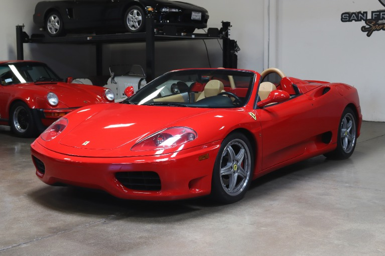 Used 2003 Ferrari 360 Spider for sale Sold at San Francisco Sports Cars in San Carlos CA 94070 3