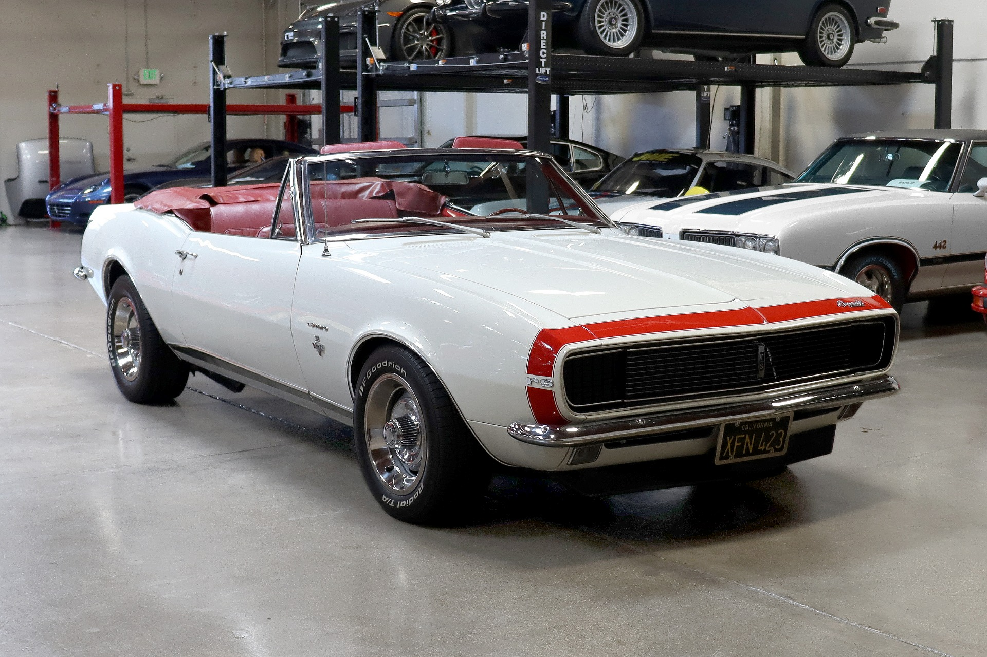 Used 1967 Chevrolet Camaro RS for sale $53,995 at San Francisco Sports Cars in San Carlos CA 94070 1