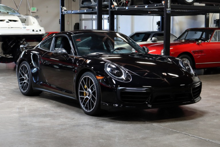 Used 2019 Porsche 911 Turbo S for sale $203,995 at San Francisco Sports Cars in San Carlos CA