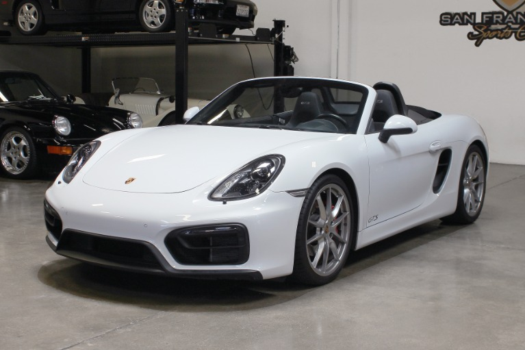 Used 2015 Porsche Boxster GTS for sale $72,995 at San Francisco Sports Cars in San Carlos CA 94070 3