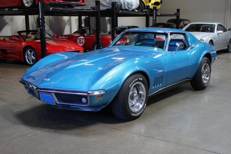 Used 1969 Chevrolet Corvette for sale Sold at San Francisco Sports Cars in San Carlos CA 94070 3