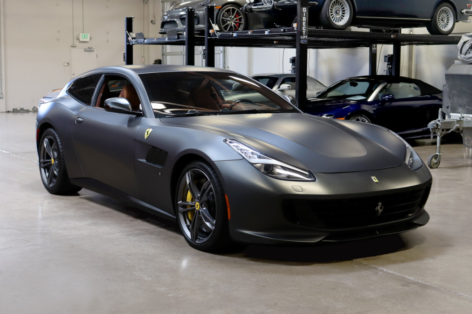 Used 2019 Ferrari GTC4Lusso for sale $259,995 at San Francisco Sports Cars in San Carlos CA 94070 1