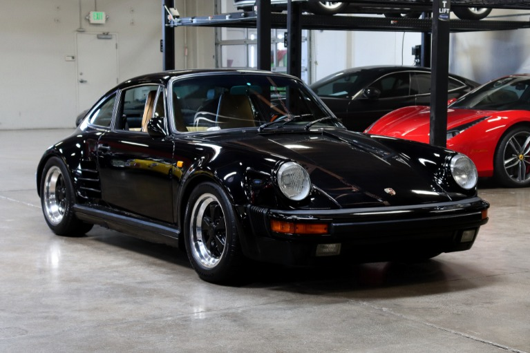 Used 1985 Porsche 911 Carrera M491 Turbo Look for sale $89,995 at San Francisco Sports Cars in San Carlos CA