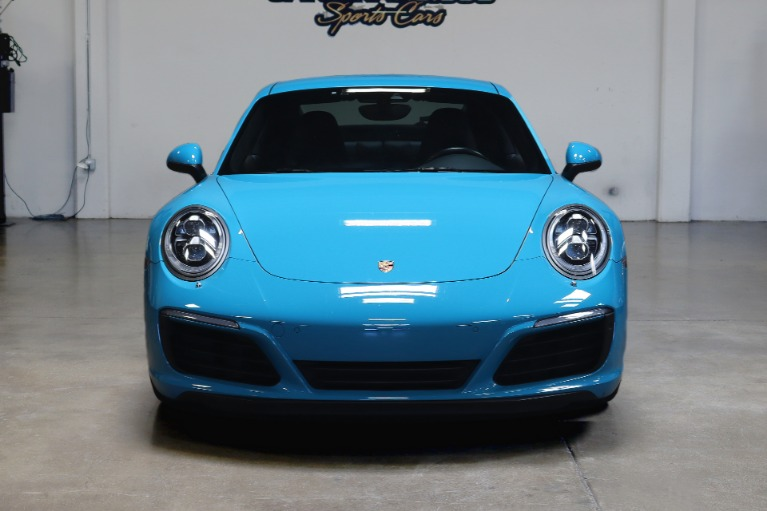 Used 2017 Porsche 911 Carrera for sale $92,995 at San Francisco Sports Cars in San Carlos CA 94070 2