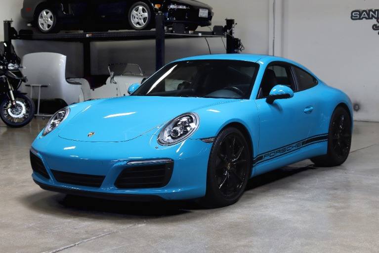 Used 2017 Porsche 911 Carrera for sale $92,995 at San Francisco Sports Cars in San Carlos CA 94070 3