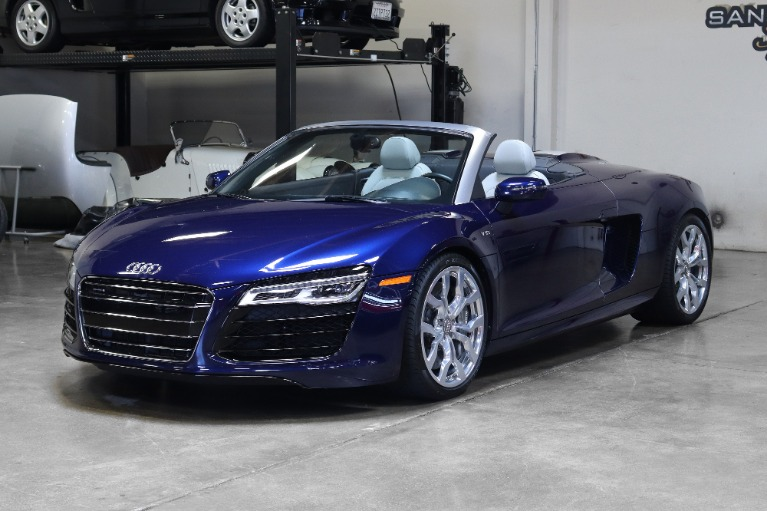 Used 2014 Audi R8 5.2 quattro Spyder for sale Sold at San Francisco Sports Cars in San Carlos CA 94070 3