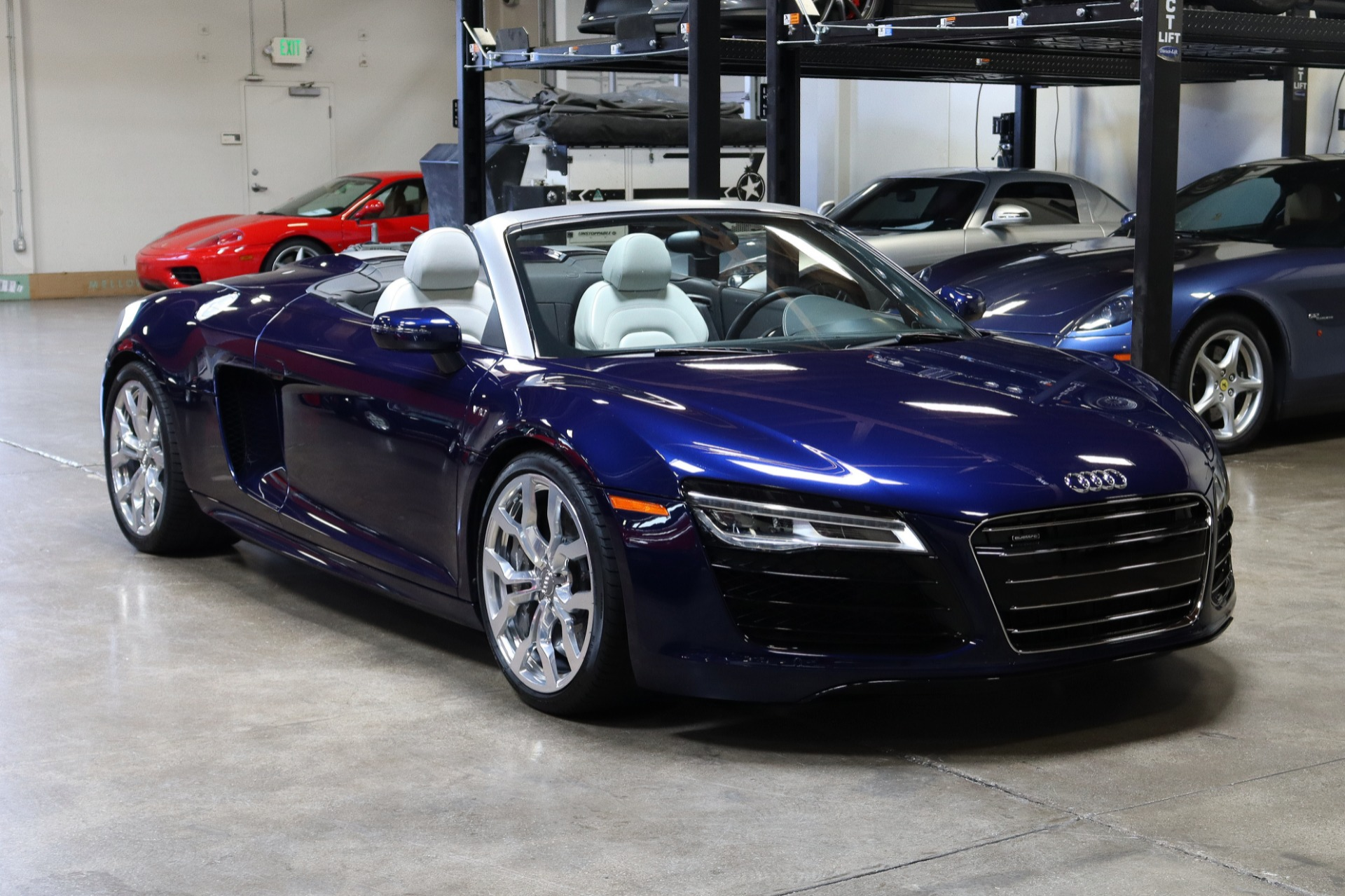 Used 2014 Audi R8 5.2 quattro Spyder for sale Sold at San Francisco Sports Cars in San Carlos CA 94070 1