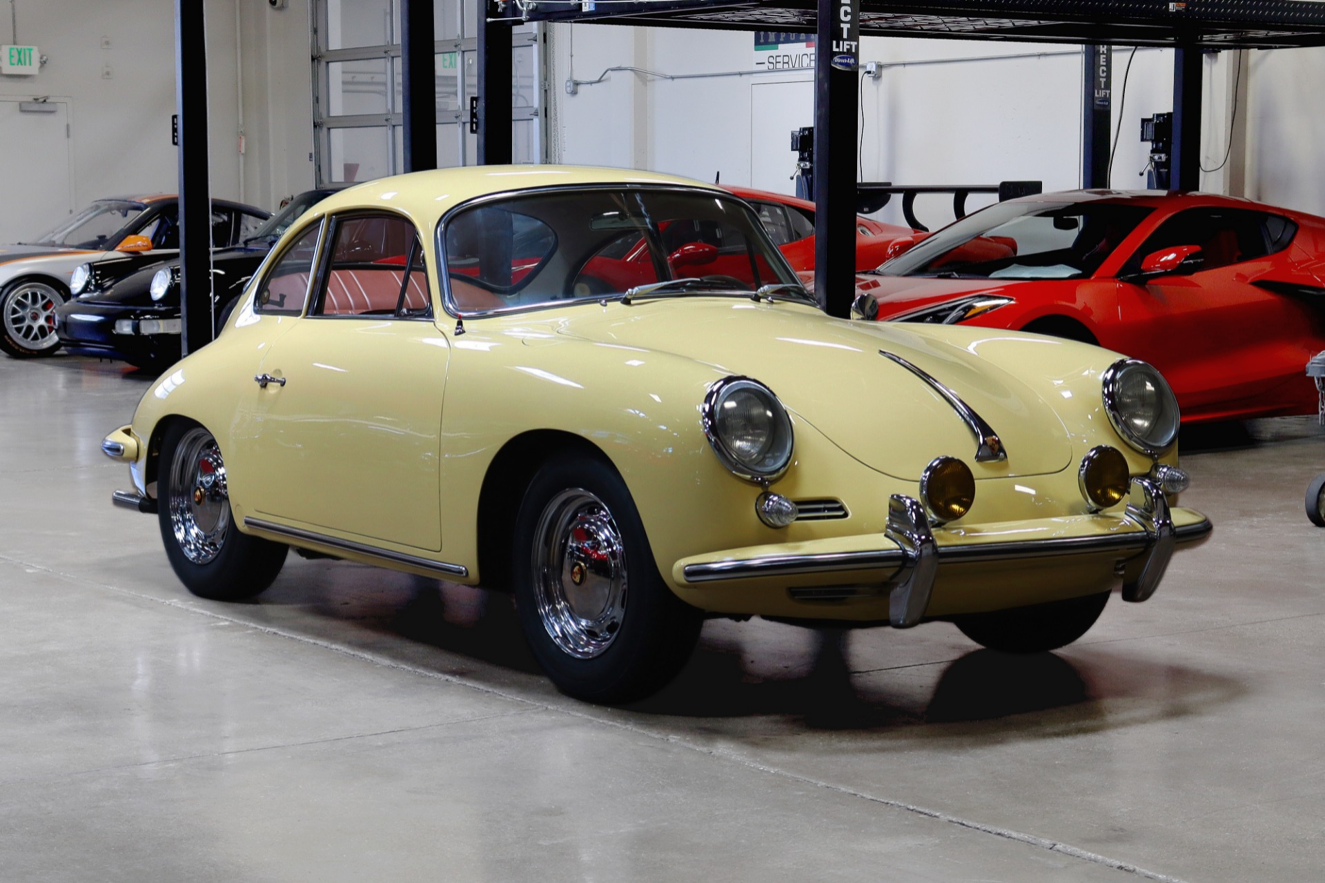 Used 1965 Porsche 356C for sale Sold at San Francisco Sports Cars in San Carlos CA 94070 1