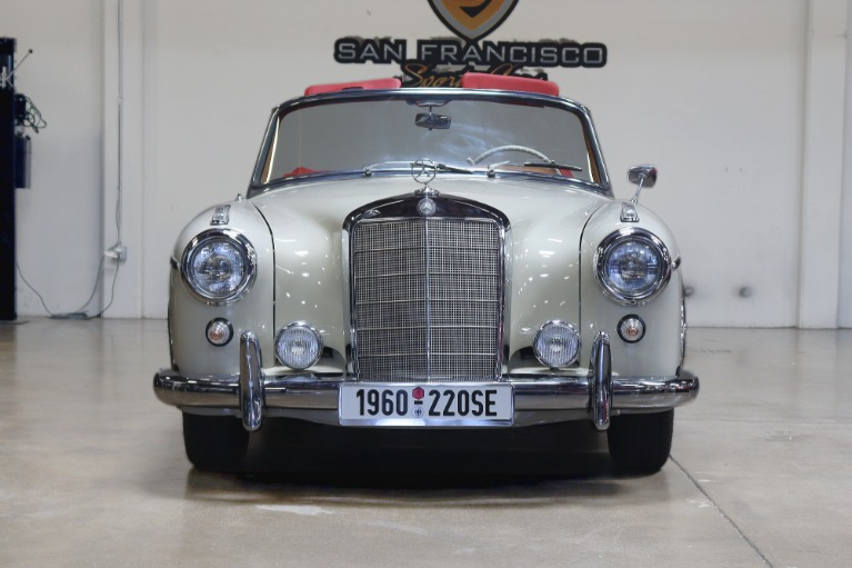 Used 1960 MERCEDES BENZ 220SE CABRIOLET for sale $129,995 at San Francisco Sports Cars in San Carlos CA 94070 2