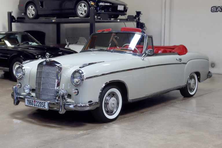 Used 1960 MERCEDES BENZ 220SE CABRIOLET for sale $129,995 at San Francisco Sports Cars in San Carlos CA 94070 3