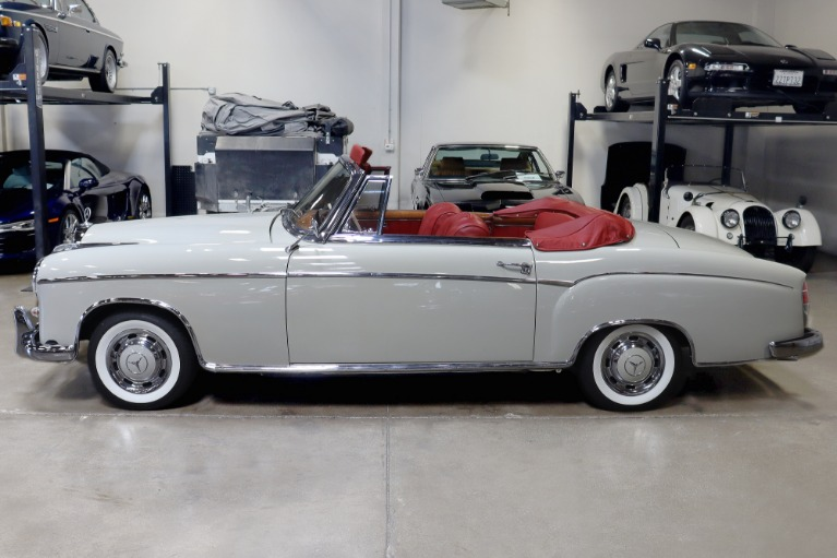 Used 1960 MERCEDES BENZ 220SE CABRIOLET for sale $129,995 at San Francisco Sports Cars in San Carlos CA 94070 4