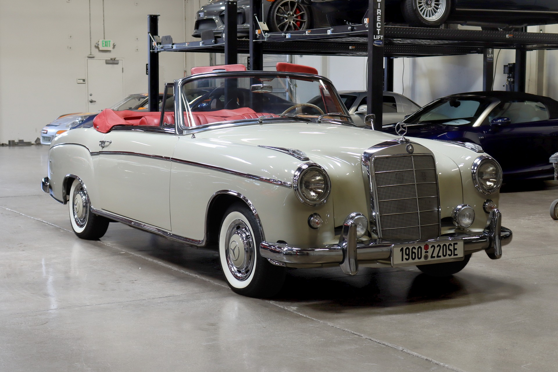 Used 1960 MERCEDES BENZ 220SE CABRIOLET for sale $129,995 at San Francisco Sports Cars in San Carlos CA 94070 1