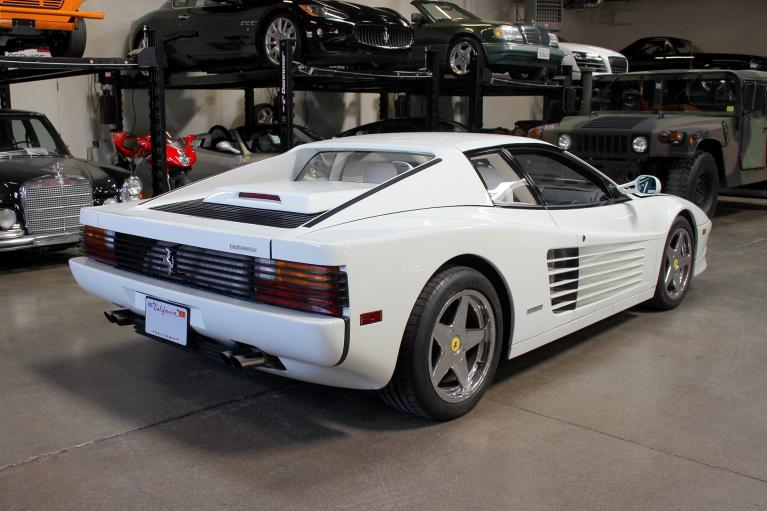 Used 1988 Ferrari Testarossa for sale Sold at San Francisco Sports Cars in San Carlos CA 94070 4