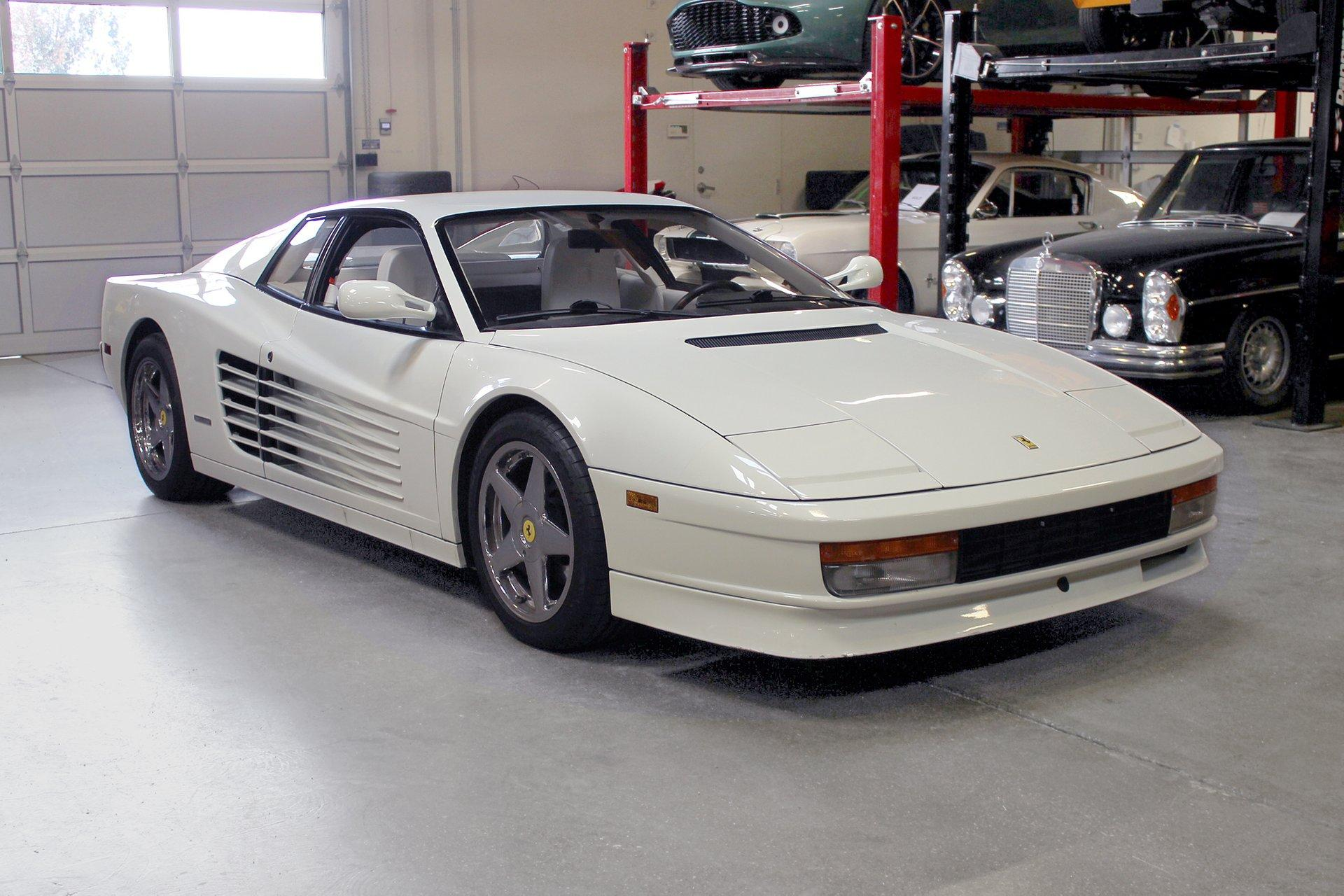 Used 1988 Ferrari Testarossa for sale Sold at San Francisco Sports Cars in San Carlos CA 94070 1