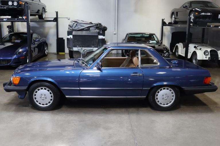 Used 1986 Mercedes-Benz 560-Class 560 SL for sale Sold at San Francisco Sports Cars in San Carlos CA 94070 4