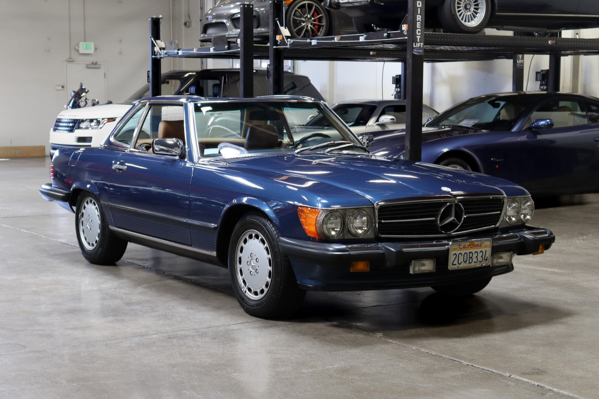 Used 1986 Mercedes-Benz 560-Class 560 SL for sale Sold at San Francisco Sports Cars in San Carlos CA 94070 1
