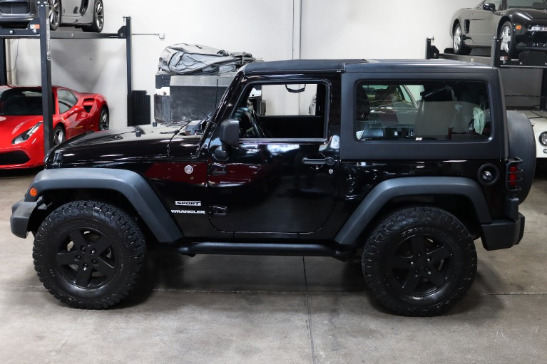 Used 2013 Jeep Wrangler Sport for sale Sold at San Francisco Sports Cars in San Carlos CA 94070 4
