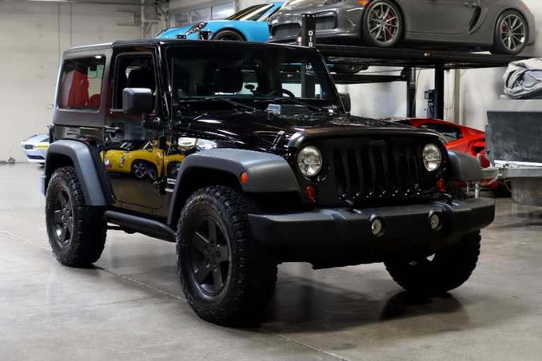 Used 2013 Jeep Wrangler Sport for sale Sold at San Francisco Sports Cars in San Carlos CA 94070 1