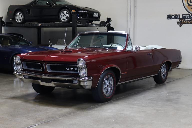 Used 1965 Pontiac GTO Convertible for sale $117,995 at San Francisco Sports Cars in San Carlos CA 94070 3