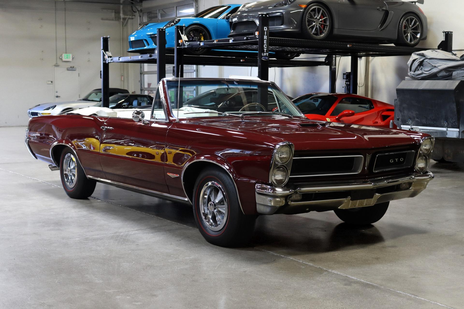 Used 1965 Pontiac GTO Convertible for sale $117,995 at San Francisco Sports Cars in San Carlos CA 94070 1