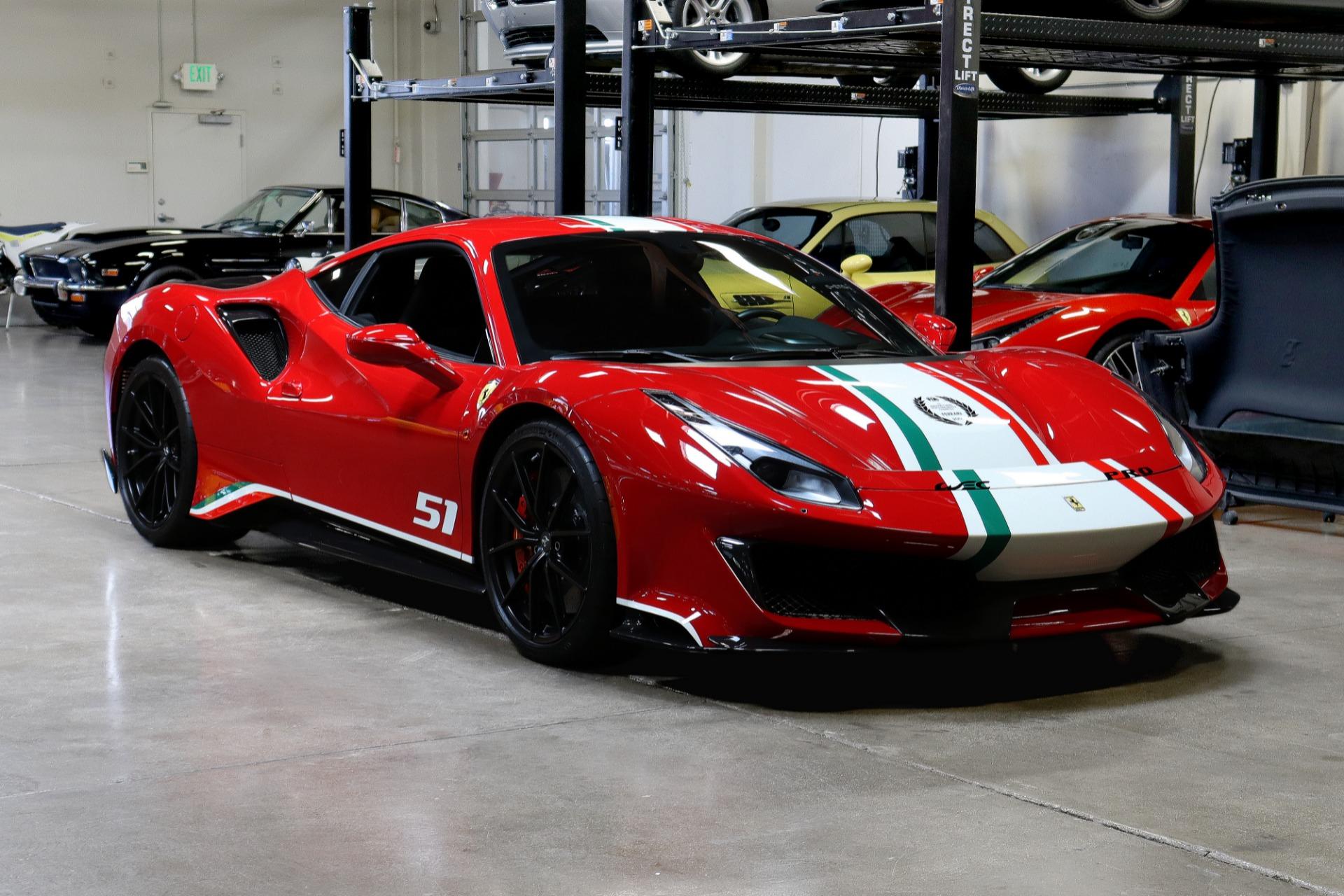 Used 2020 Ferrari 488 Pista Piloti for sale $859,995 at San Francisco Sports Cars in San Carlos CA 94070 1