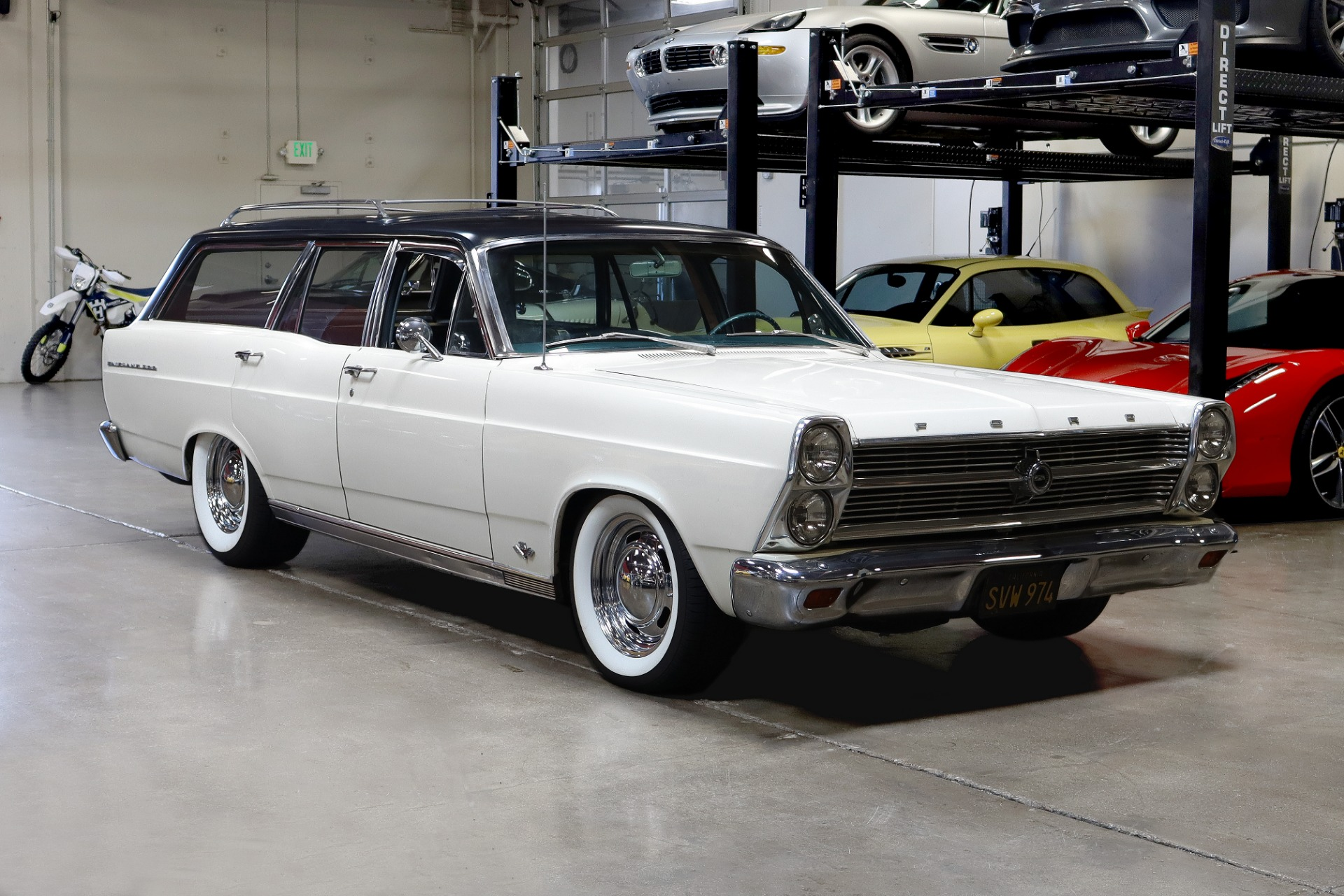 Used 1966 Ford Fairlane 500 for sale $22,995 at San Francisco Sports Cars in San Carlos CA 94070 1