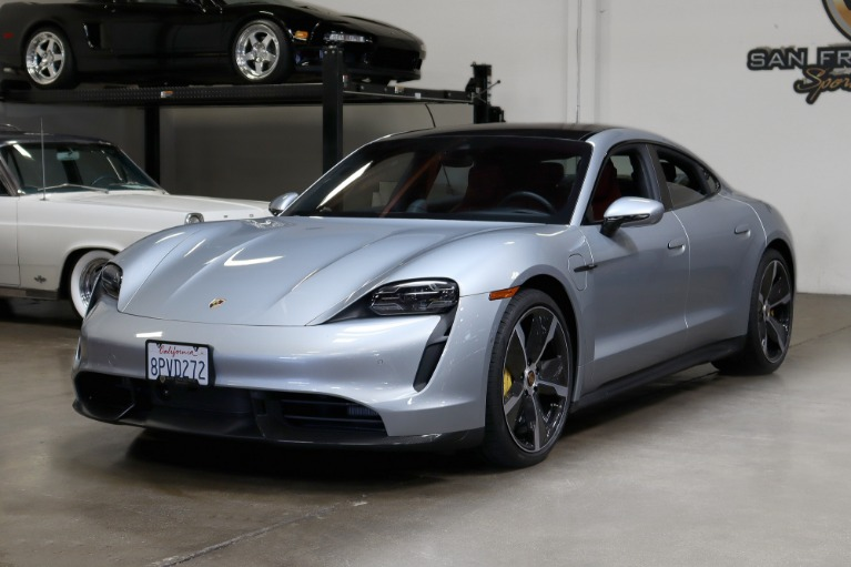 Used 2020 Porsche Taycan Turbo S for sale $184,995 at San Francisco Sports Cars in San Carlos CA 94070 3