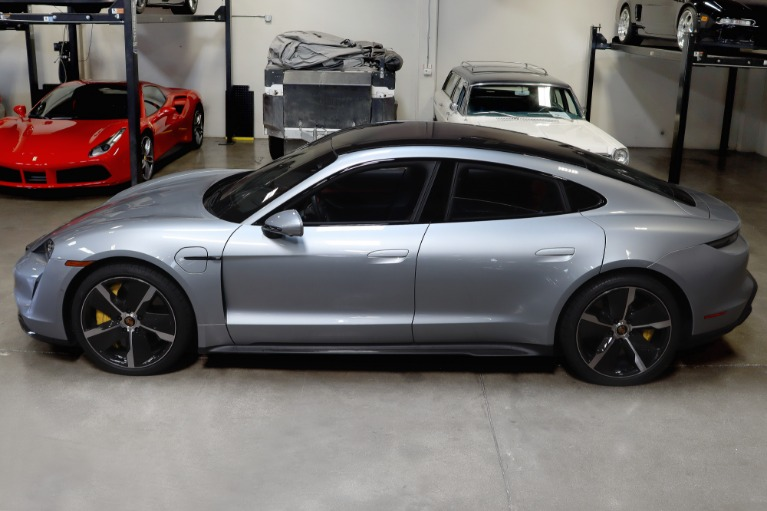 Used 2020 Porsche Taycan Turbo S for sale $184,995 at San Francisco Sports Cars in San Carlos CA 94070 4