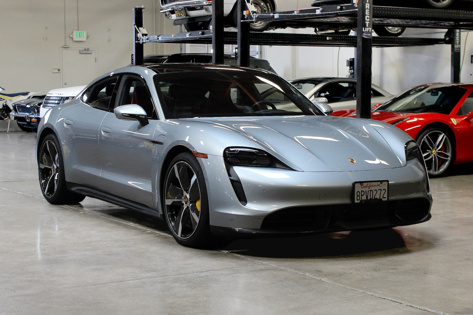 Used 2020 Porsche Taycan Turbo S Turbo S for sale $189,995 at San Francisco Sports Cars in San Carlos CA 94070 1
