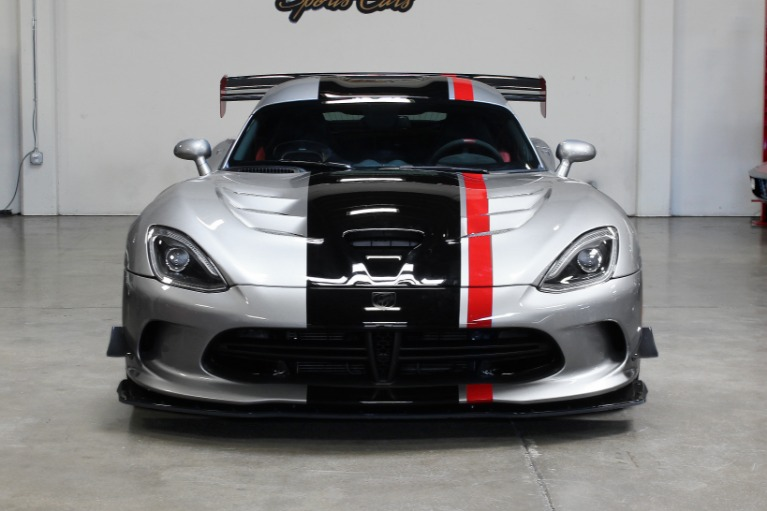 Used 2016 Dodge Viper ACR ACR for sale $205,995 at San Francisco Sports Cars in San Carlos CA 94070 2