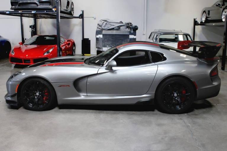 Used 2016 Dodge Viper ACR ACR for sale $205,995 at San Francisco Sports Cars in San Carlos CA 94070 4