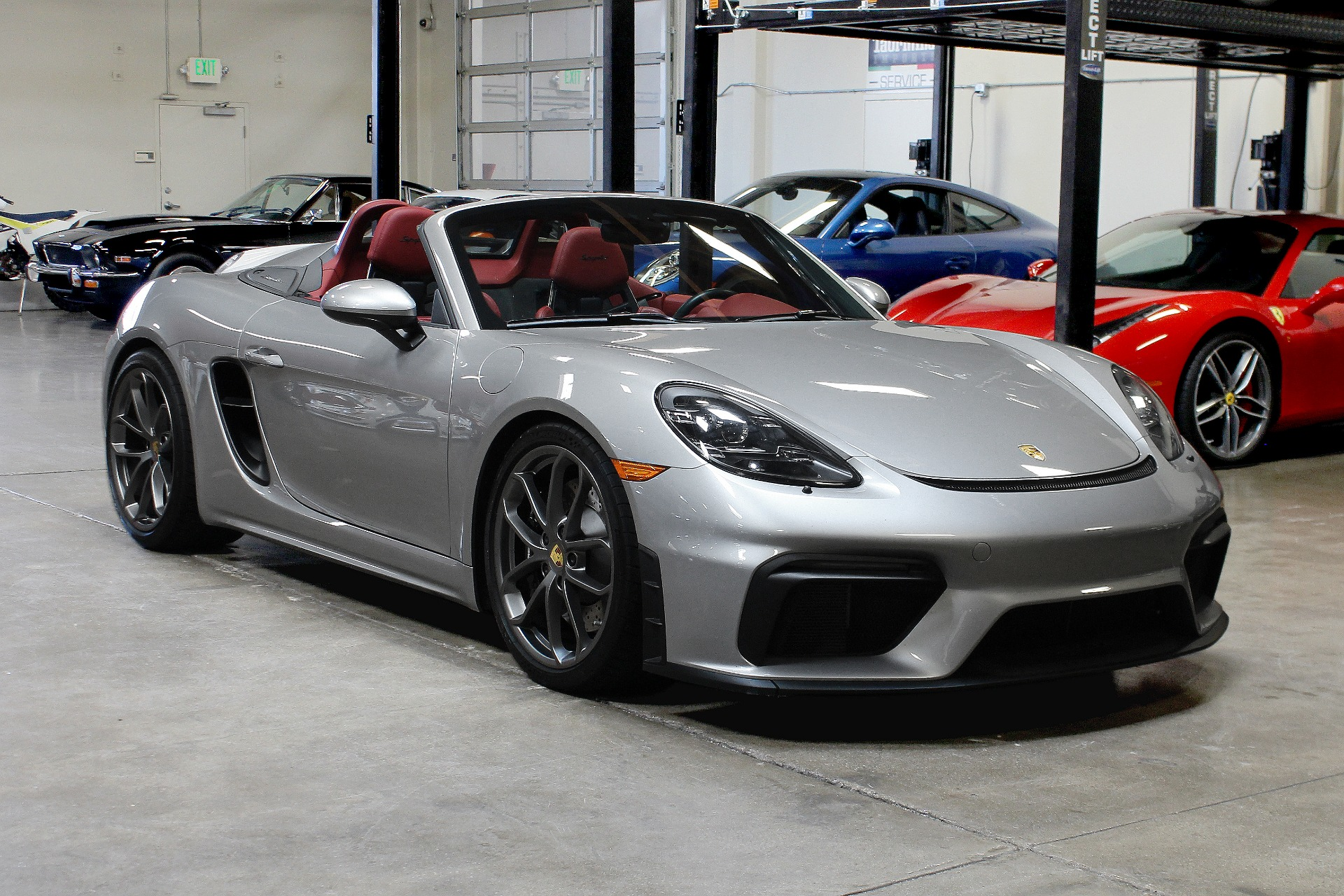 Used 2020 Porsche 718 Boxster Spyder for sale $129,995 at San Francisco Sports Cars in San Carlos CA 94070 1