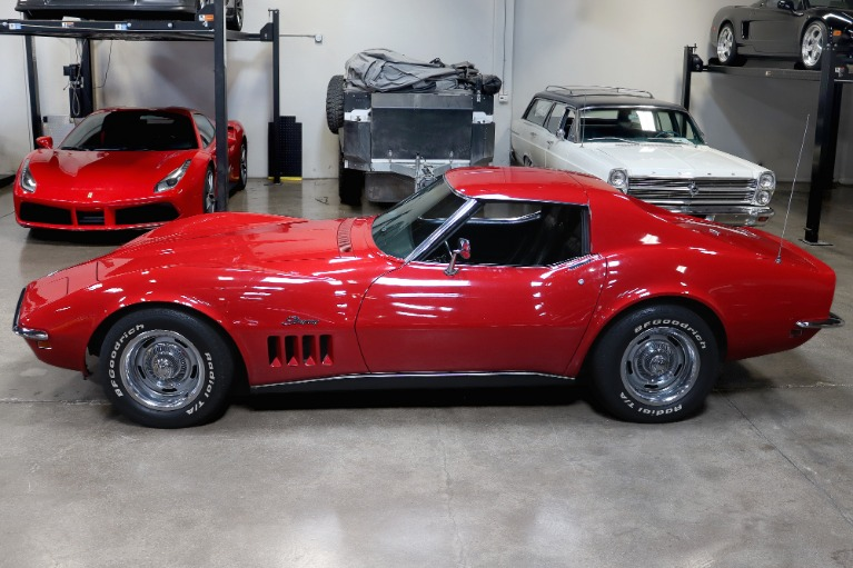 Used 1969 Chevrolet Corvette for sale $34,995 at San Francisco Sports Cars in San Carlos CA 94070 4