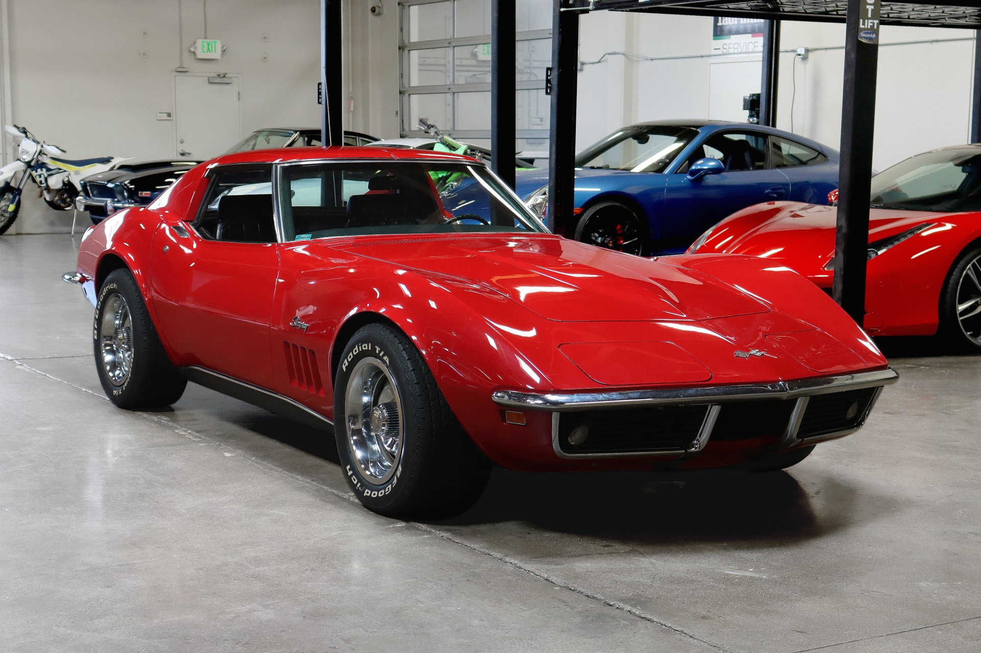 Used 1969 Chevrolet Corvette for sale $34,995 at San Francisco Sports Cars in San Carlos CA 94070 1