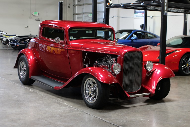 Used 1932 Ford Coupe 3 Window for sale $42,995 at San Francisco Sports Cars in San Carlos CA